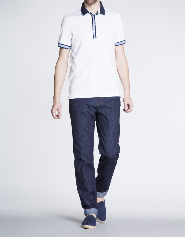 Pantalón azul jeans