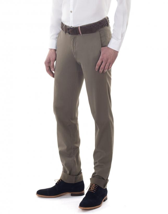 Pantalón sport canutillo kaki