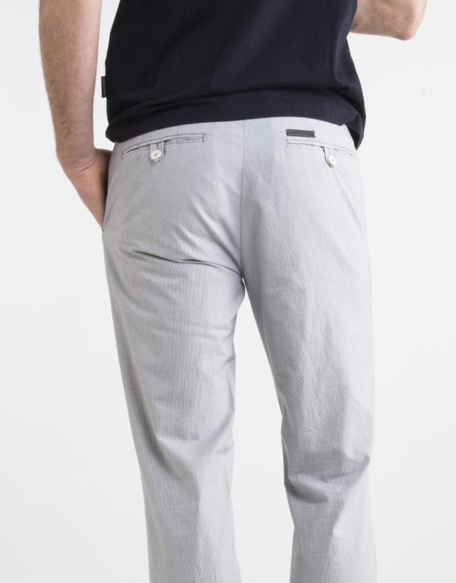 Pantalón chino milrayas