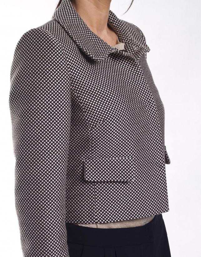 Shirt collar jacket