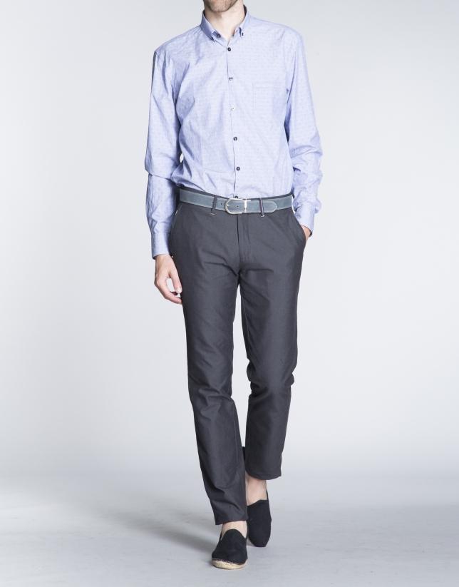 Pantalón gris sport algodón ligero