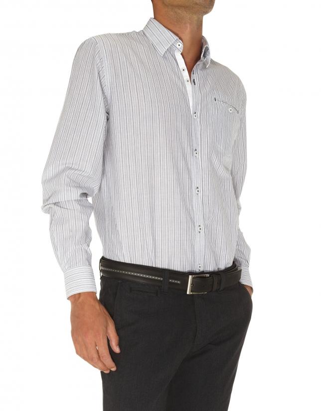 camisa sport rayas