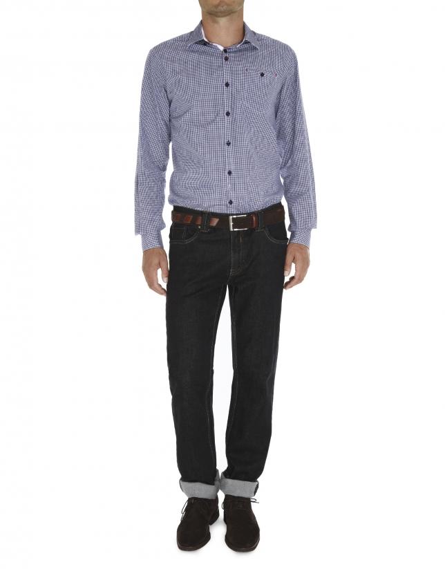 camisa sport fil coupé cuadros