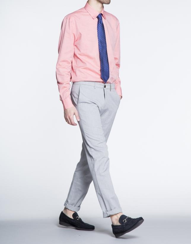 Pantalon ville Oxford gris