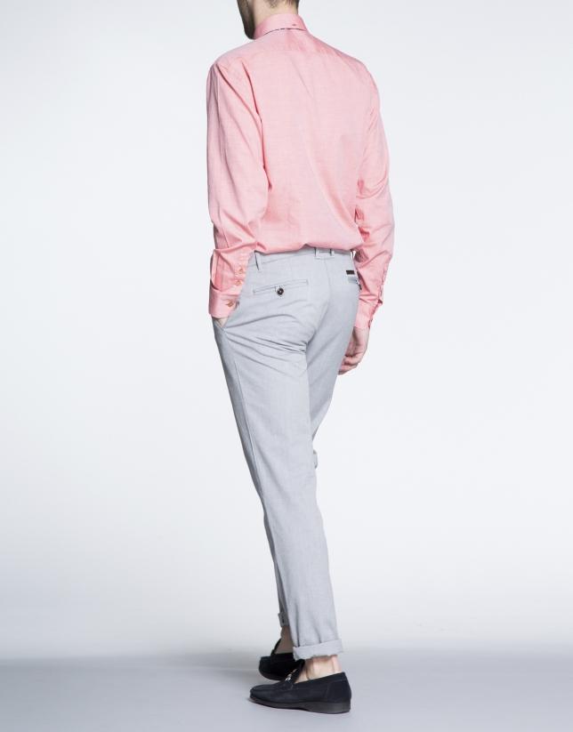 Grey Oxford sports pants