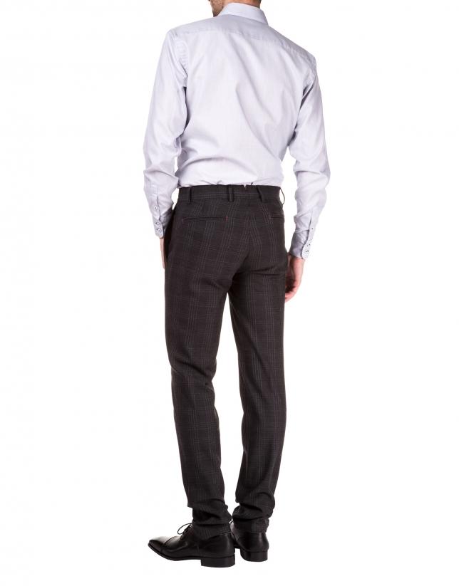 pantalon sport cuadros