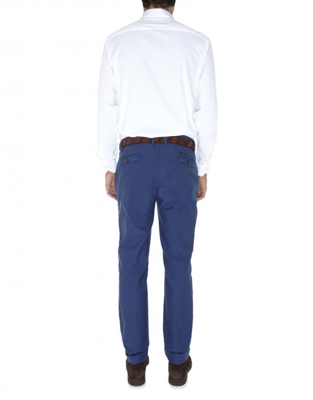 Pantalon ville ajusté