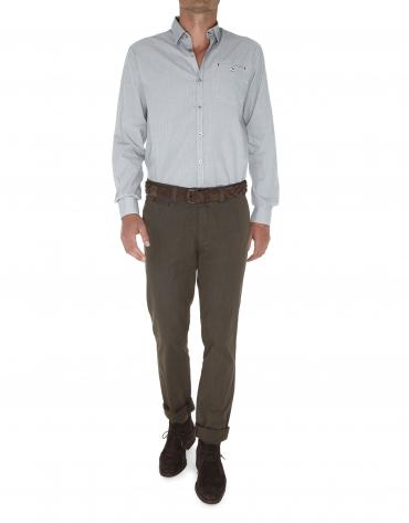 Pantalon ville micromotif.
