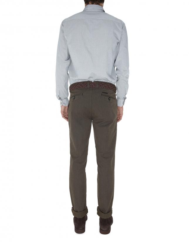 Microprint sport pants