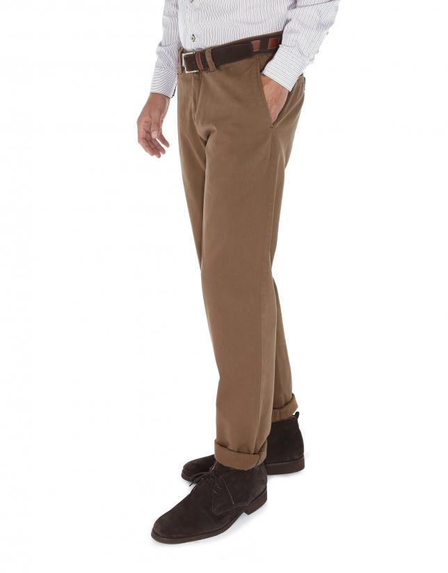 Pantalon ville en sergé