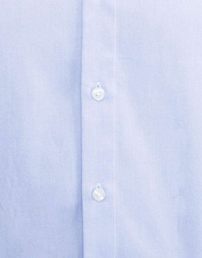 Light blue dressy Oxford shirt
