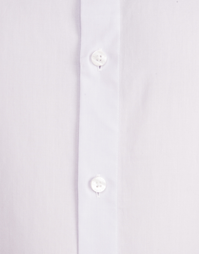 Mauve dressy Oxford shirt