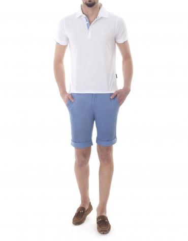 Print bermuda shorts