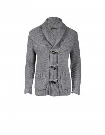 Charcoal grey cardigan