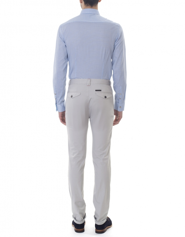 Green jacquard sport pants