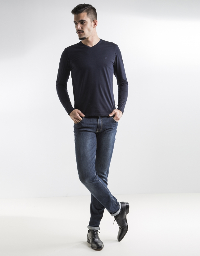 Jean bleu slim fit