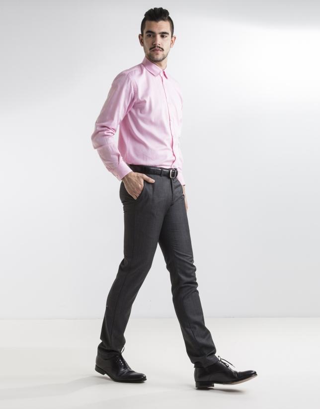 Pink Oxford dress shirt