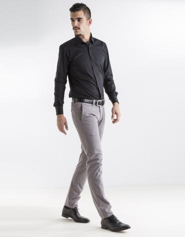 Light grey print sport pants