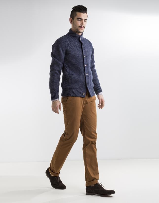 Slim fit toast herringbone sport pants