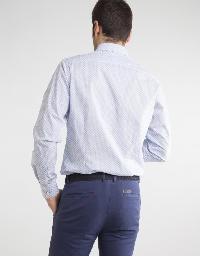 Camisa milrayas marino