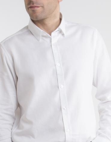 Camisa Oxford blanca