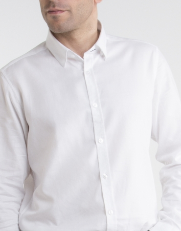 White Oxford shirt