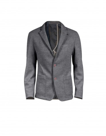 Three pocket updated fit  sports jacket