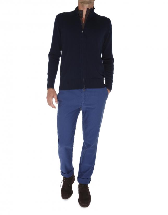 chaqueta efecto doble prenda
