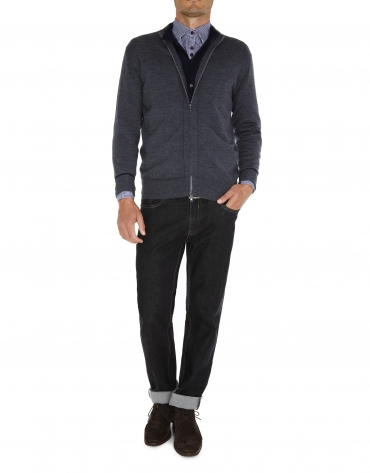 Gray jacket