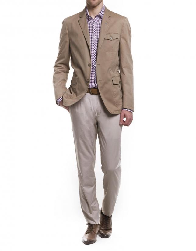 Safari style jacket
