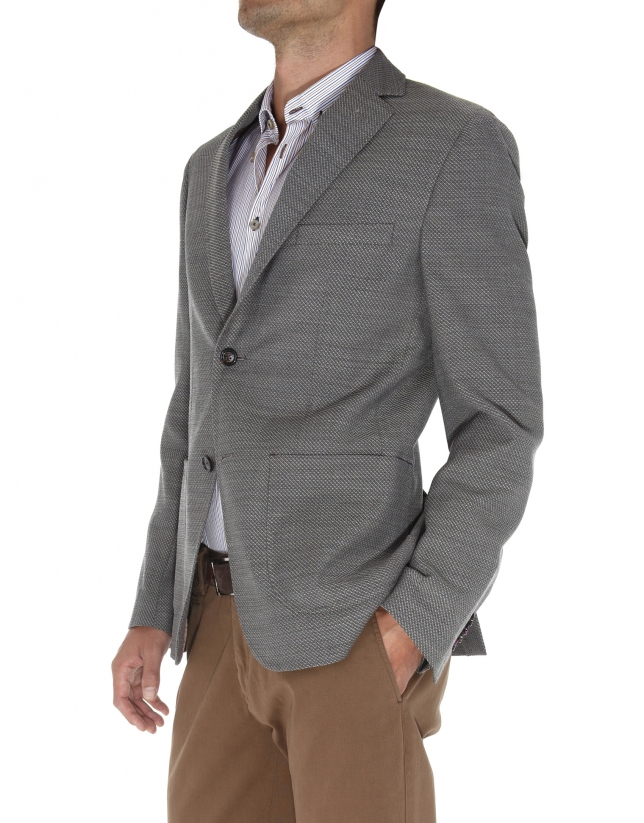 Structured jacket American