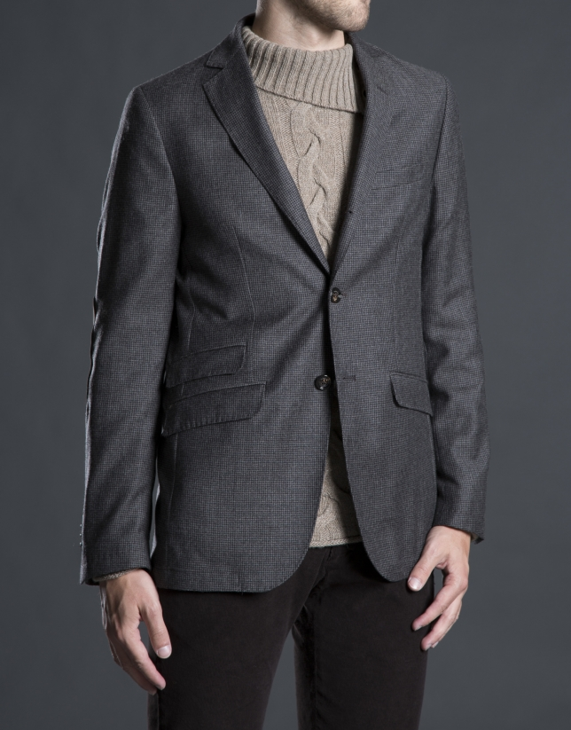 Gray hounds tooth jacket