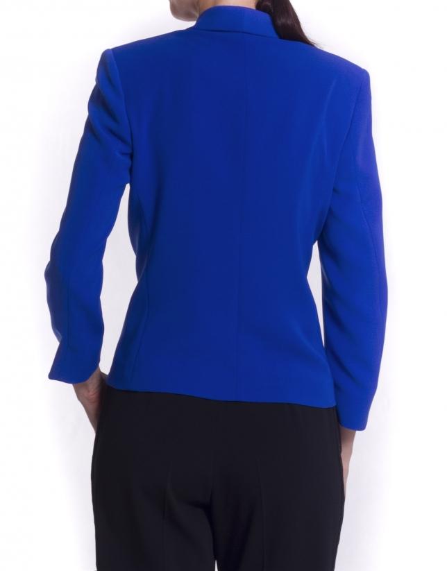 Tuxedo-type jacket