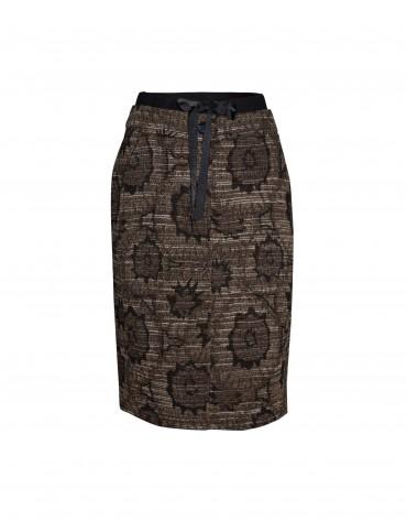 Falda estampado