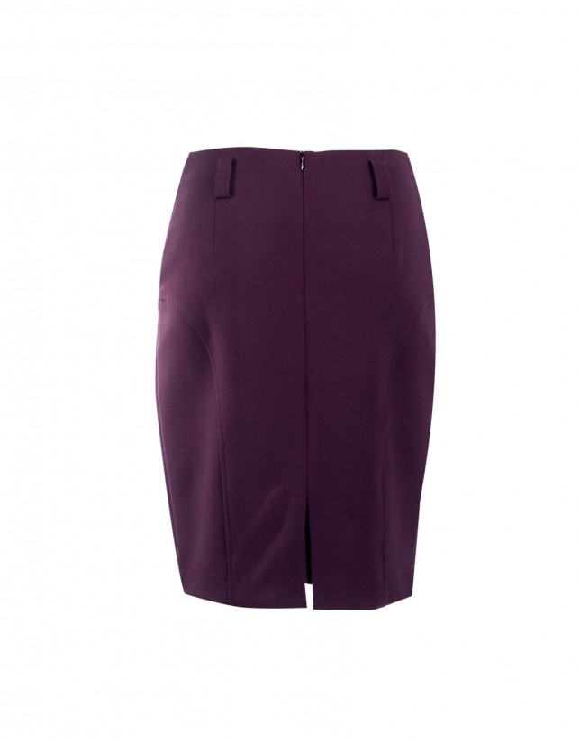 Bourdeaux skirt with pockets