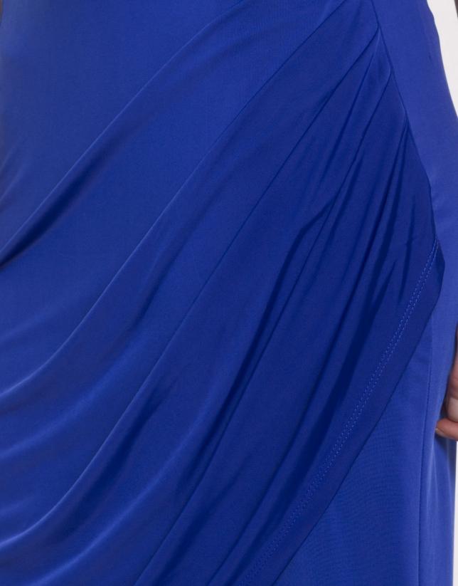 Falda delantero drapeado