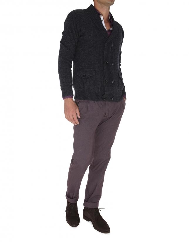 chaqueta cruzada
