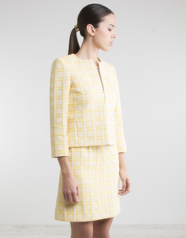 Short yellow jacket
