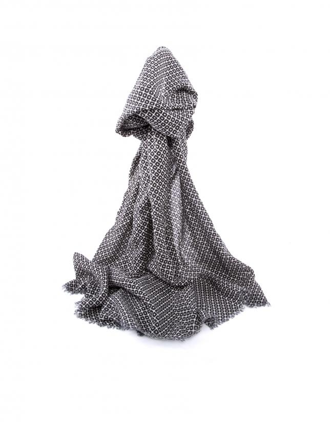foulard cuadros