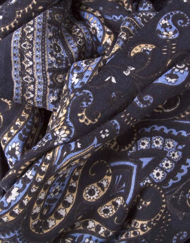 foulard estampado