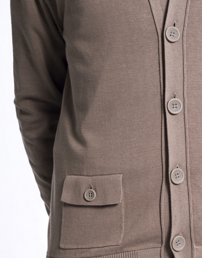 Jacket with elbow patches