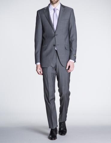 Grey twill suit