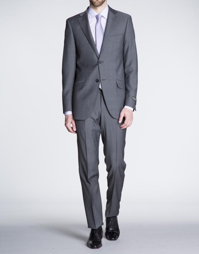 Costume sergé gris