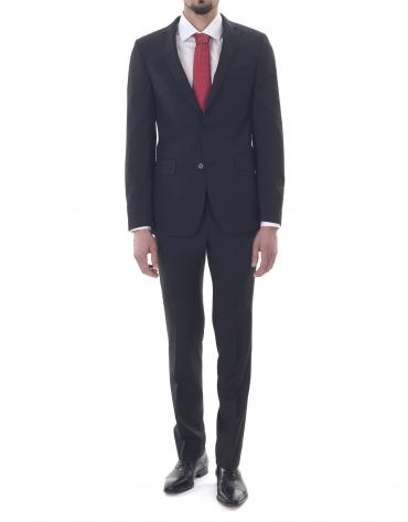Veste costume unie noire