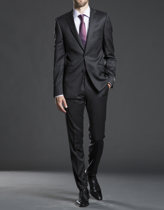 Slim fit, gray suit