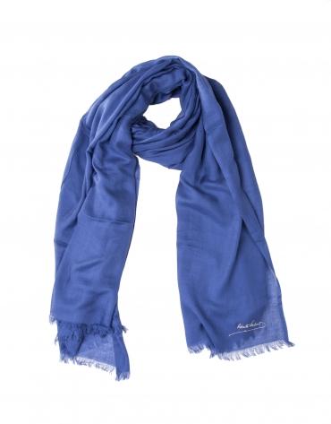 Foulard azul marino