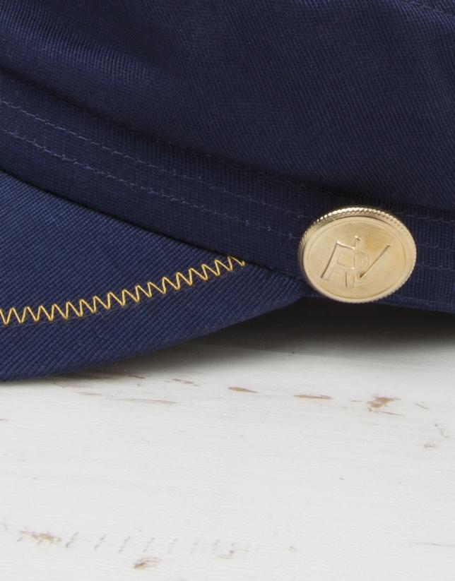 Casquette bleue