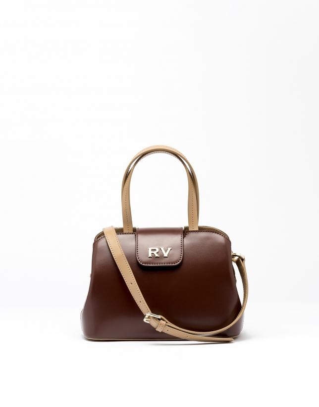 Brown leather  Ryan mini satchel