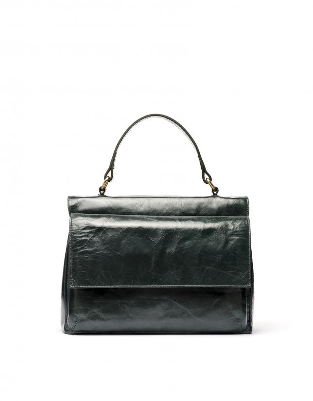 Green leather Noor doctor's bag