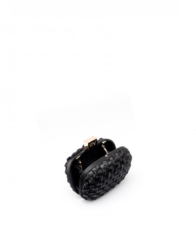 Clutch noir Cova